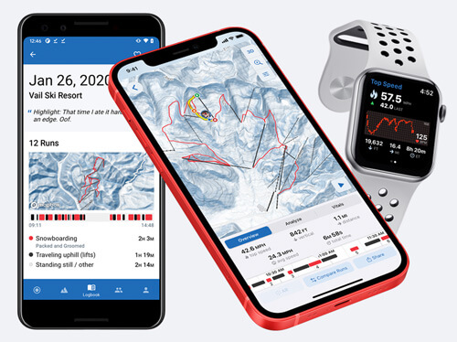 Slopes on iOS, Android, and Apple Watch